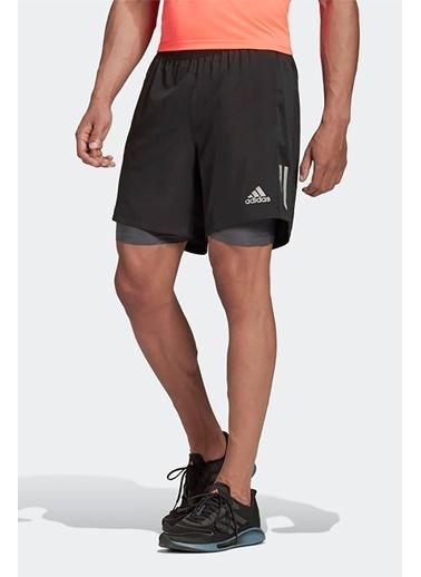 adidas Own The Run Sho Erkek Kısa Şort Siyah
